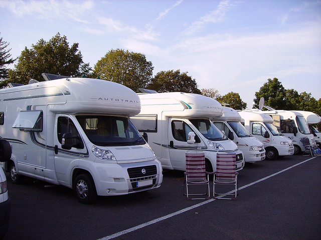 Recreational vehicles in Briare